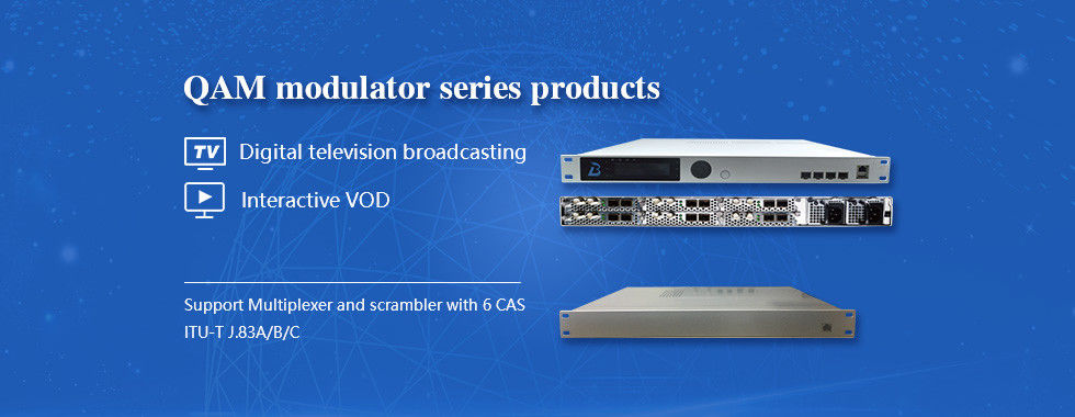 China best Edge QAM Modulator on sales