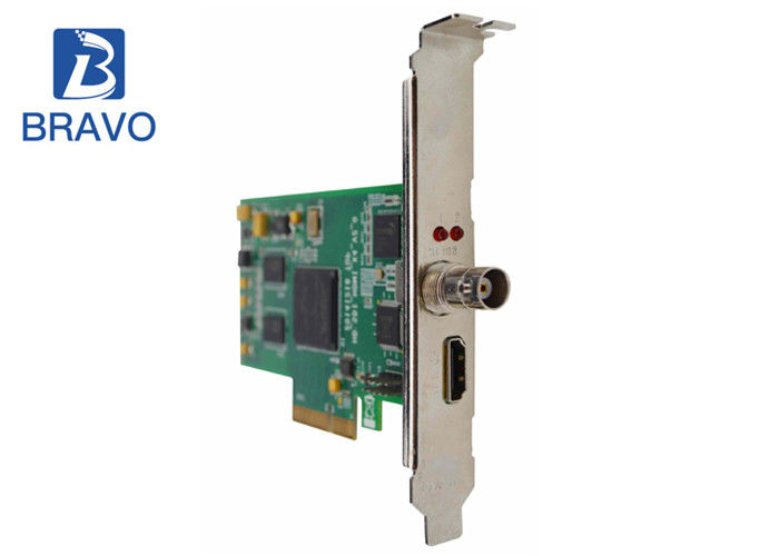 Video Processing PCIE Audio Video Capture Card , 2 Channel HDMI SDI Video Capture Board