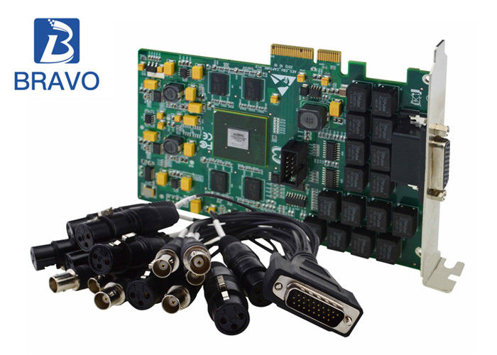 Digital Video Capture Card Series Real Time AES / BEU For Digital Audio Capture