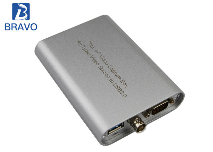 All Interfaces To USB Video Capture Box Converter Mobile And Portable A / V Capture