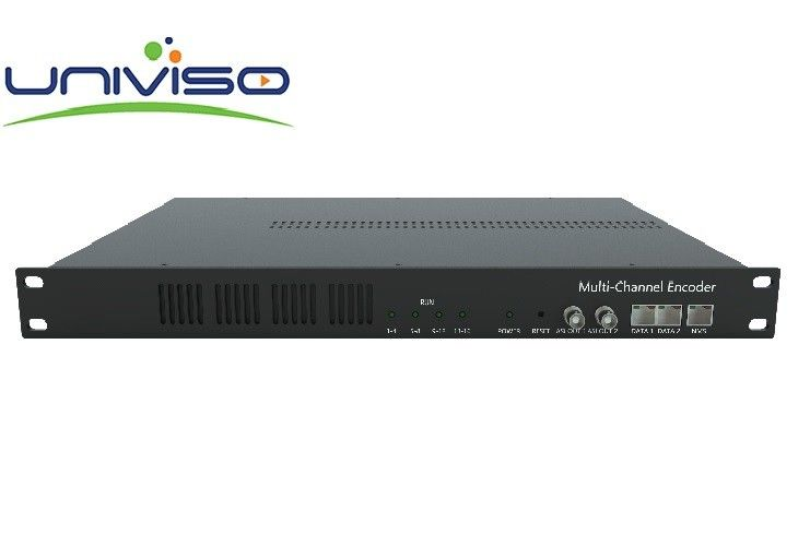 Idea Solution Head End Processor HD/SD H.264/H.265/HEVC 16 Channels Encoder For IPTV OTT