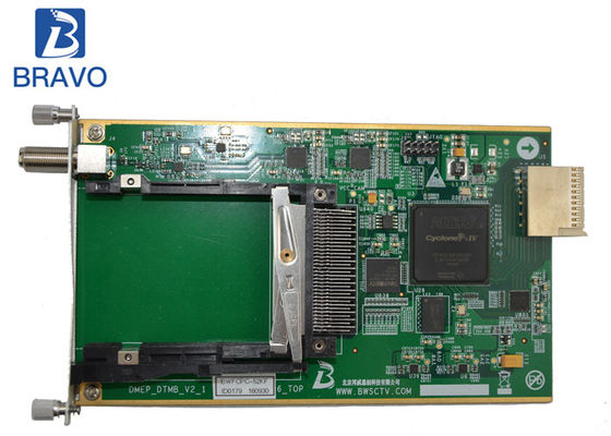 China Digital Headend 2 Channel Sub Board , DTMB Demodulating And Descrambling Sub Card factory