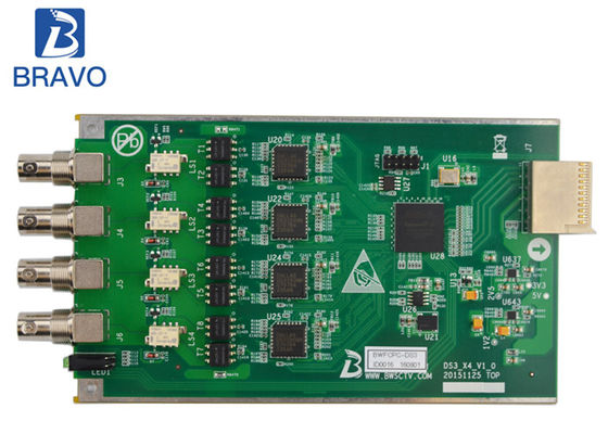 China ASI / SDI Digital Sub Board 4 Channel For Signal Encoding Transcoding factory